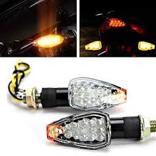 INNOGLOW Motorcycle Turn Signals 2pcs LED Bulb ... - Amazon.com