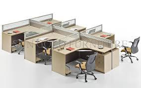office desk cubicle. Modern Appearance 4 Person Workstation Cubicle Round Office DesksSZWS929 Desk I