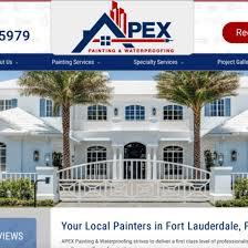 apex painting waterproofing website fort lauderdale