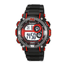 mens watches casual watches for men on jcpenney armitron® mens pro sport black and red digital strap watch 40 8284red