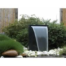 Fontaine Design Jardin Fontaine De Jardin Vicenza Avec Chute Deau Led Taille