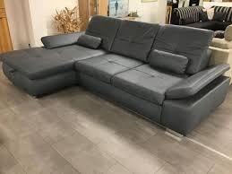 Couch Blau Grau