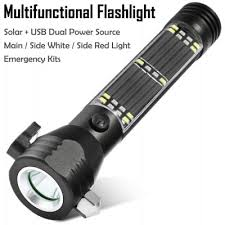 Solar Power Rechargeable Led Flashlight Solar Power Rechargeable Solar Powered Torch Lights