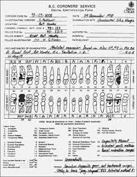 Pediatric Dental Charting Forms 42 Right Printable Dental Chart