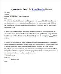 25 Sample Appointment Letters In Doc Sample Templates