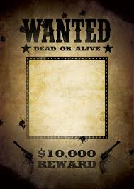 Free Templates For Posters 29 Free Wanted Poster Templates Fbi And Old West