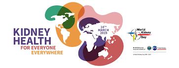 2019 WKD Theme - World Kidney Day