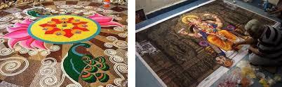 ganesh chaturthi decoration rangoli my decorative
