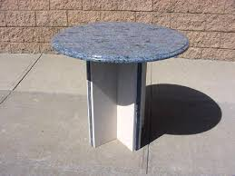24 inch round granite table top