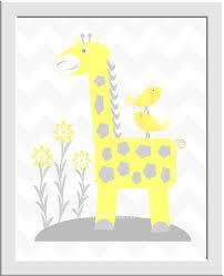 you are my sunshine baby girl nursery wall art elephant elephants giraffe birds yellow gray grey on elephant and giraffe nursery wall art with you are my sunshine baby girl nursery wall art elephant elephants