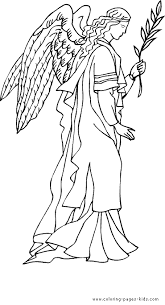 Small Picture Christmas Angel color page Christmas coloring pages