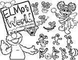 Sesame Street Elmo Coloring Page Wecoloringpage 32 Wecoloringpagecom