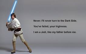 Luke Skywalker Quotes Adorable Ill Never Turn To The Dark Side Star Wars Quotes Star Wars Quotes