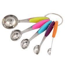 kitchen accessories plastic measuring cups spoon