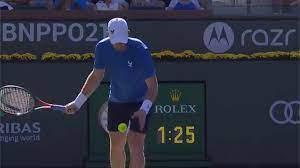Andy Murray überrascht Carlos Alcaraz beim ATP Masters in Indian Wells mit  Aufschlag von unten - Eurosport