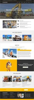 Business Website Templates Fascinating BuildPlus Responsive Construction And Renovation Template