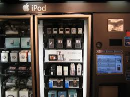 Ipod Vending Machine Locations Extraordinary FileiPod Vending Machinejpg Wikimedia Commons