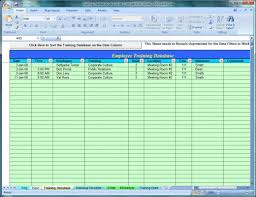 Excel Spreadsheet To Track Employee Training Free Employee Training Tracker Excel Spreadsheet