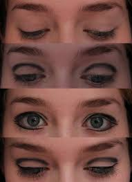 cher 1960s eye makeup step