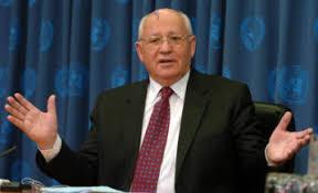 Resultado de imagem para mikhail gorbachev