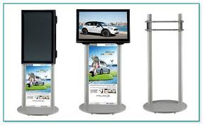 Tv Display Stand For Trade Shows Extraordinary Tv Display Stand For Trade Shows