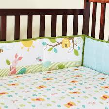 image of winnie the pooh crib bedding fabric