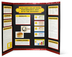 science fair display board templates how to set up your project blossom hill school science