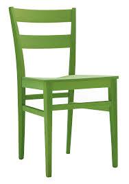 Sedia in legno moderna e sedile disponibile in vari materiali e
