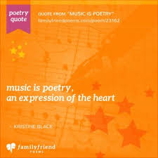 The two art forms possess certain similar elements, such as meter (a unit of rhythm in poetry) and rhyme, and so, across the years, many composers have been inspired by poetry, with some even setting these poems to music. 16 Music Poems Powerful Poems About Music