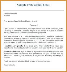 Sample Business Letter Inspiration Business Letter Sent Via Email Format Cover Sample Bunch Ideas Of