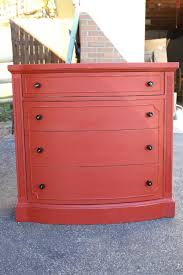 painted red furniture. red painted furniture 7
