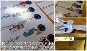 Preschool Classroom Job Chart Printables Classroom Jobs For Kindergarten Free Printable