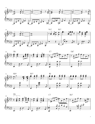Linus And Lucy Sheet Music For Piano Download Free In Pdf Or