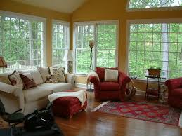 furniture for sunrooms. furniture indoor for sunrooms with white upholstery sofa patterned red chairs square side s