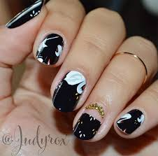 cly nail art designs for short nails