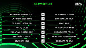 Over the weekend, the no. Uefa Europa Conference League On Twitter Here Are The Results From The First Europa Conference League Draw Uecl