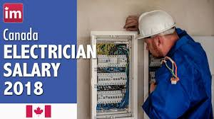 Industrial Electrician Salary Electrician Salary In Canada 2018 Wages In Canada