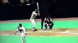 Reggie Jackson Bat Flip Home Run Taking ...