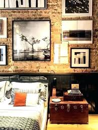 fake exposed brick wall fake exposed brick faux brick wall in bedroom do exposed brick fake