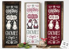 Shipment was quick and the gnome was as described. Christmas Porch Sign Svg Gnomies Svg 939614 Cut Files Design Bundles