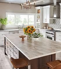 Mid-Century <b>Modern</b> Kitchen | <b>Quartz in</b> Lyra