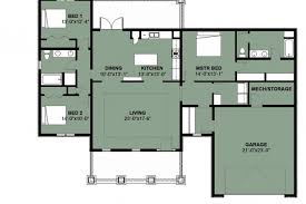 3 bedroom house plan kenya best of floor plans credit to