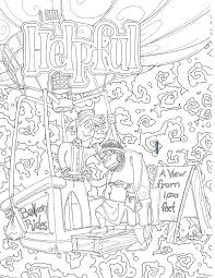 Youth Coloring Pages Pdf We Choose Virtues
