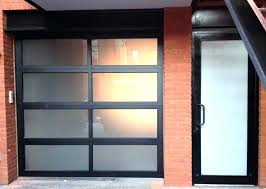 glass garage door aluminum doors are a modern trend for homes commercial businesses cost canada