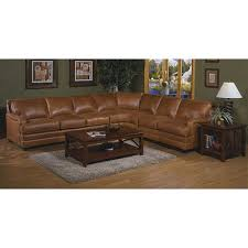 Omnia Leather Pantera Leather Sectional & Reviews