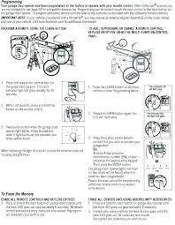 craftsman garage door opener install instructions craftsman