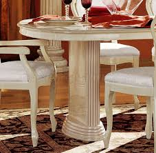 italian lacquer dining room furniture. rosella ivory lacquer finish royal classic dining room by esf italian furniture