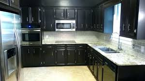 kitchen backsplash ideas with cherry cabinets kitchen ideas for dark cabinets dark cherry cabinet with white