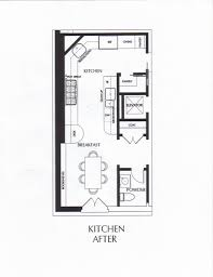 innovation ideas modern floor plans for small galley kitchens