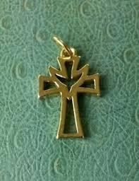 James Avery Retired 14k Dove Cross Pendant or Charm 2.5 grams | eBay